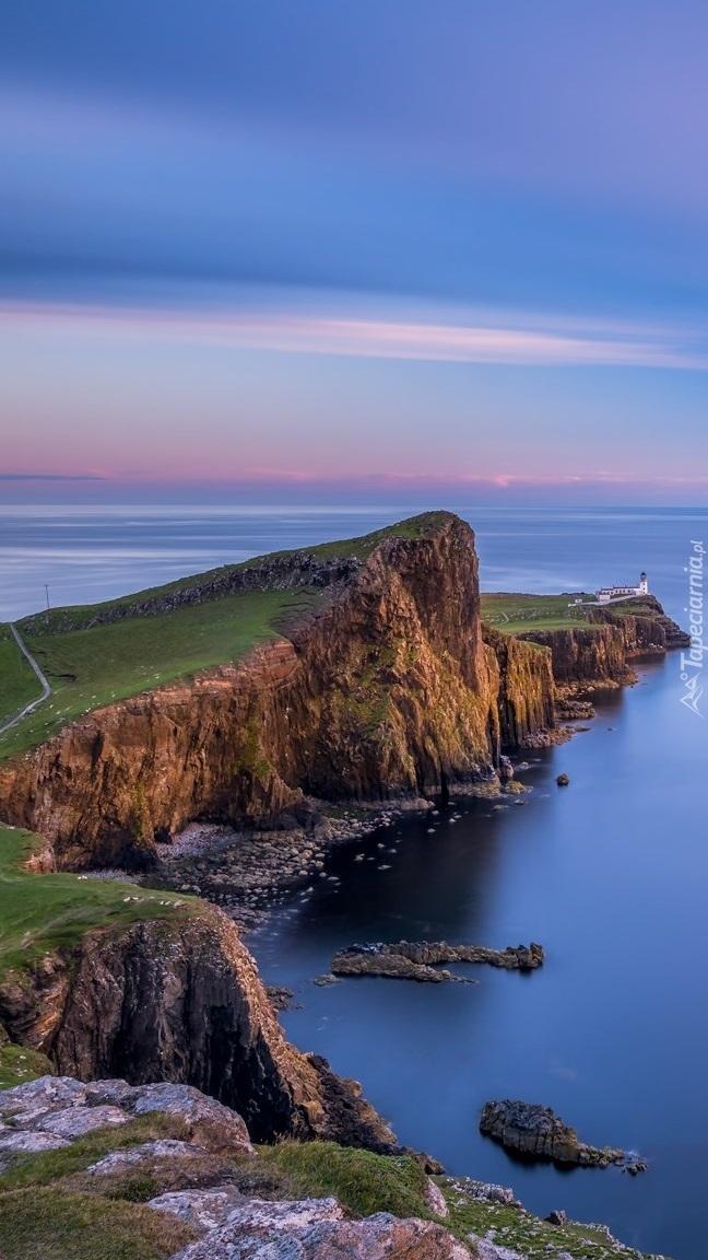 Latarnia morska na półwyspie Duirinish