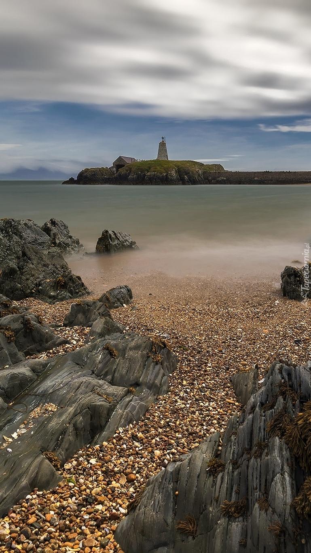 Latarnia morska na wyspie Anglesey