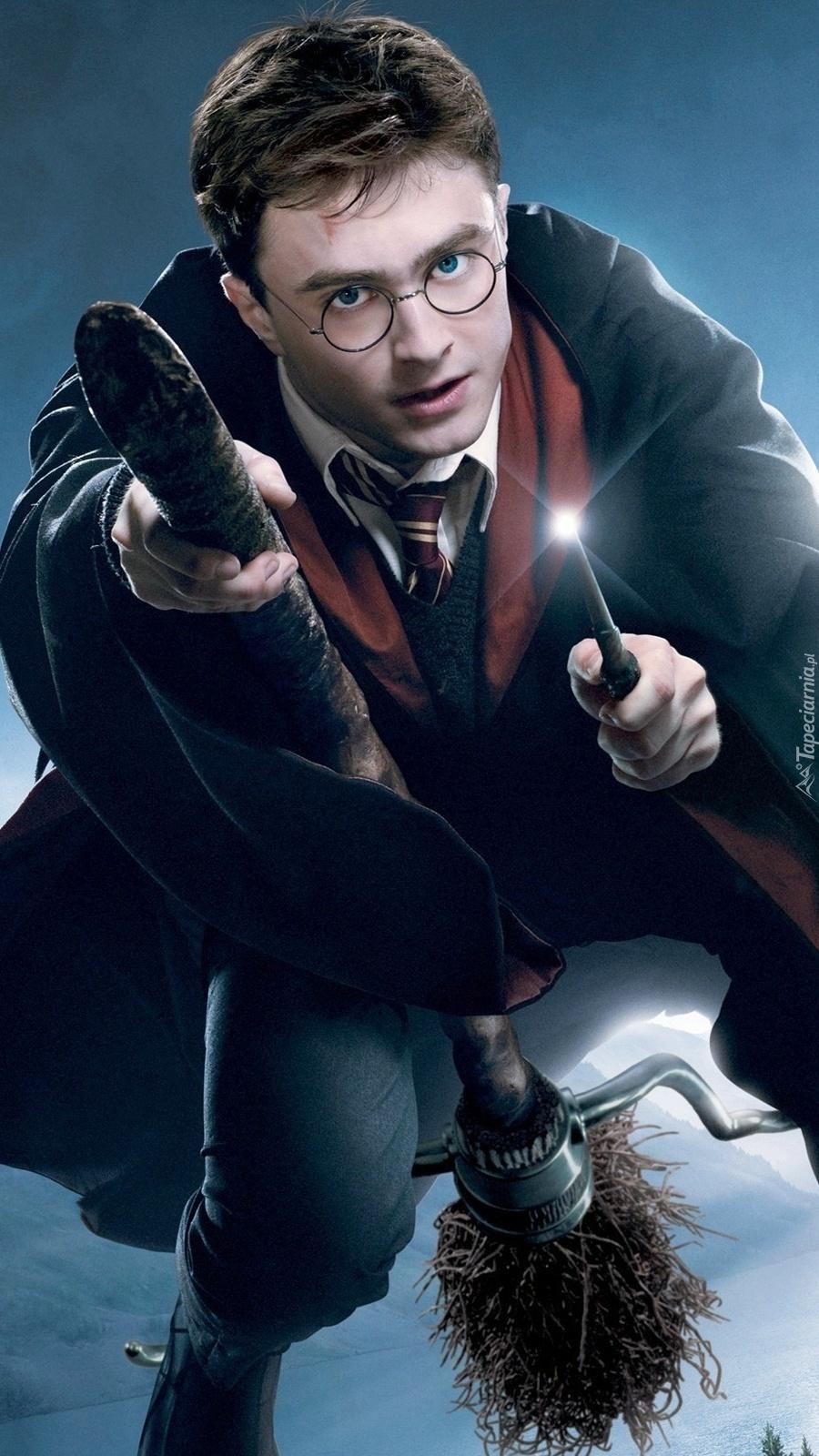 Lecący  Harry Potter