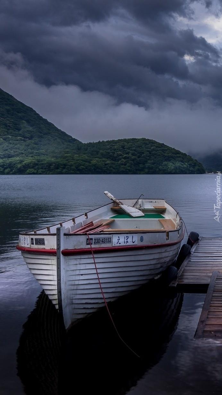Łódka na jeziorze Lake Haruna