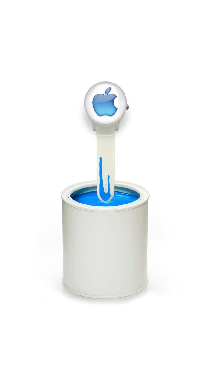 Logo Apple na tarczy zegarka