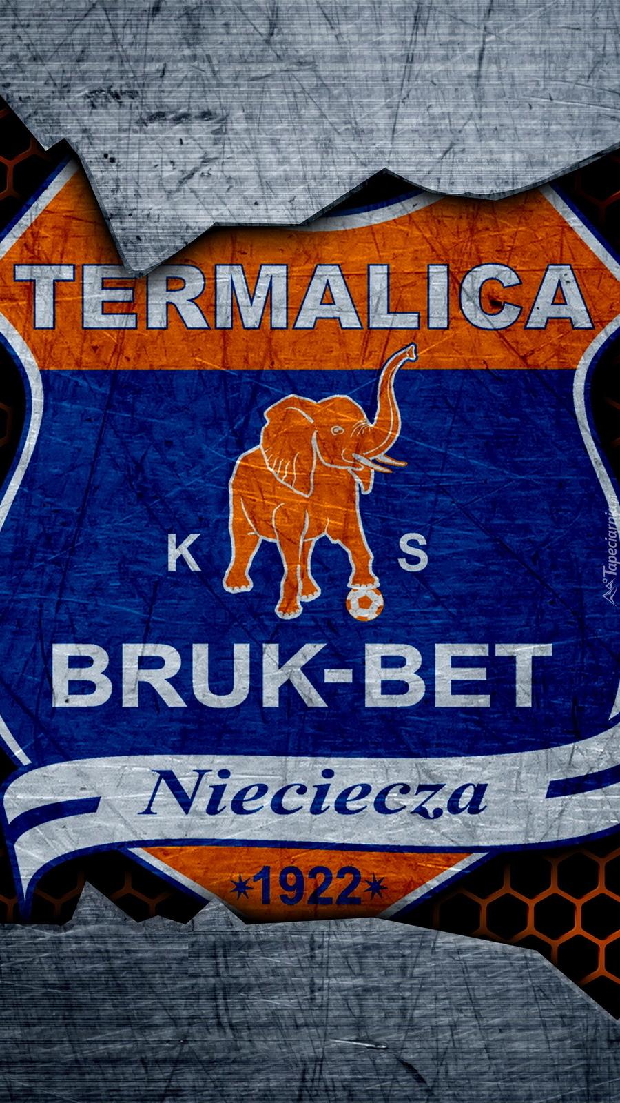 Logo Bruk-Bet Termalica Nieciecza