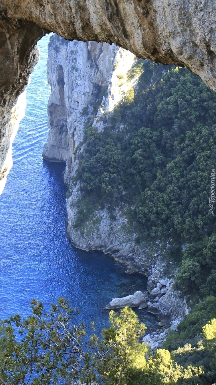 Łuk skalny Arco Naturale