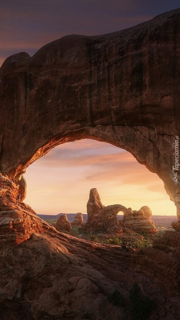 Łuk skalny Double Arch