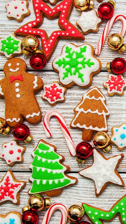 Lukrowane pierniczki świąteczne