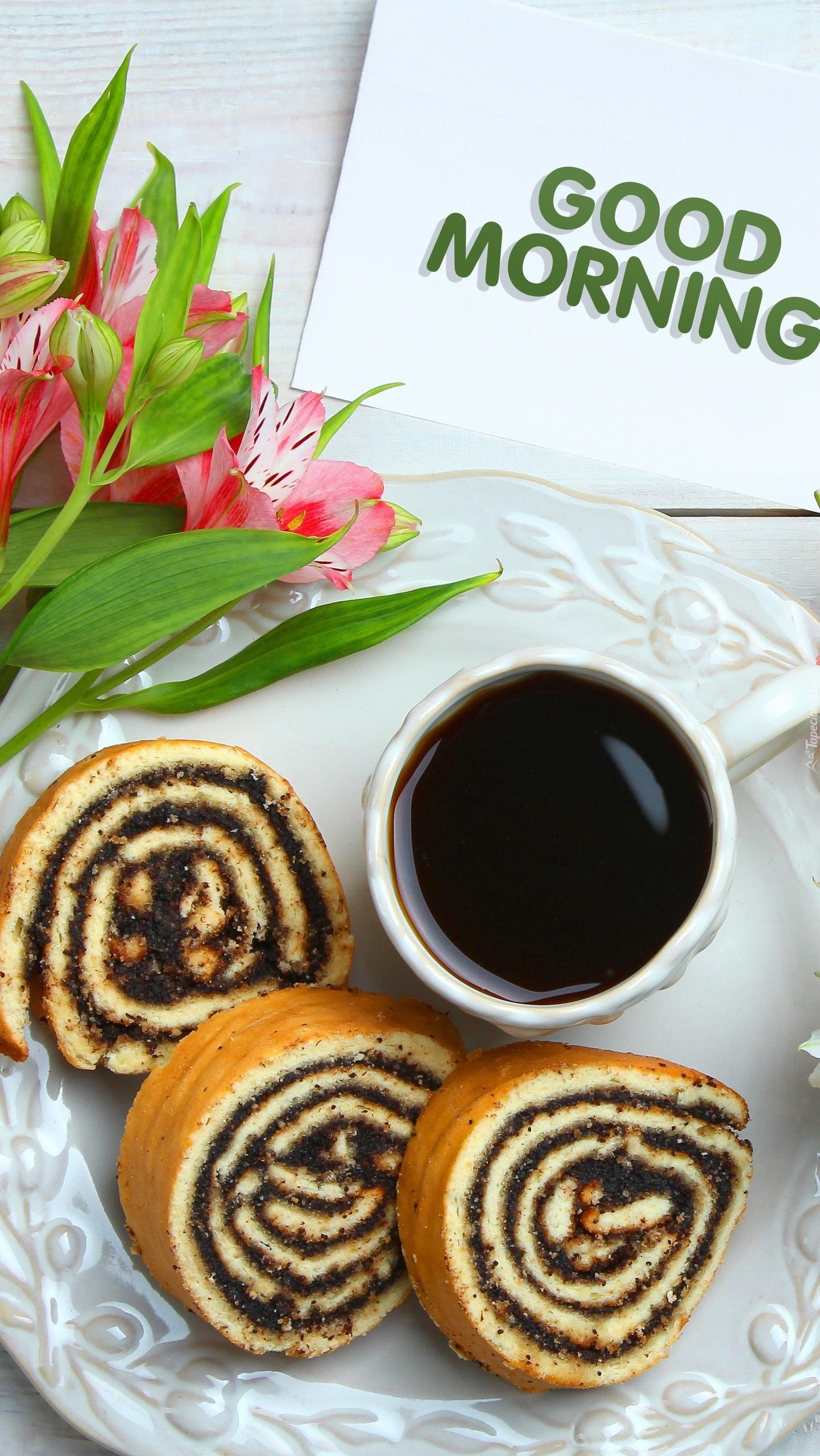 Makowce i kawa na miły początek dnia