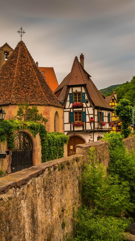 Malownicze domy w Kaysersbergu