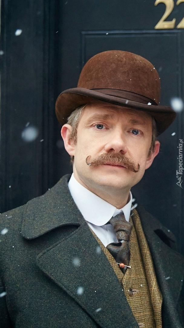 Martin Freeman jako doktor Watson w serialu Sherlock