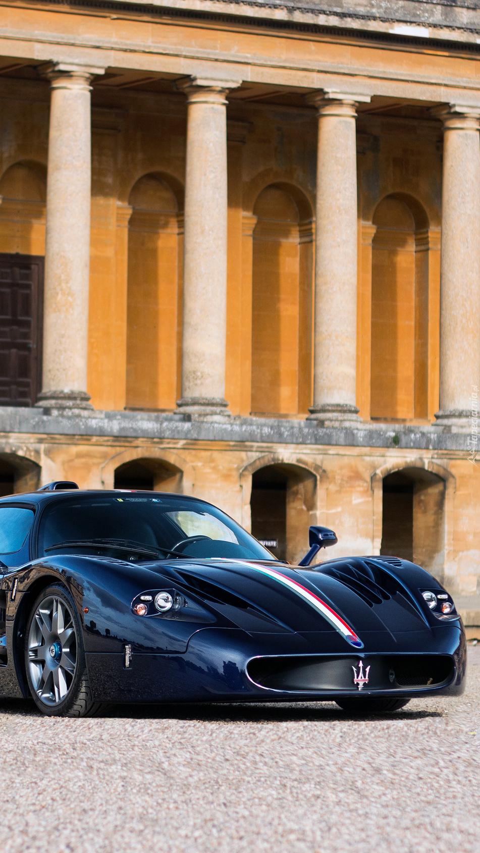 Maserati MC12 Blue Carbon Fibre by Zanasi