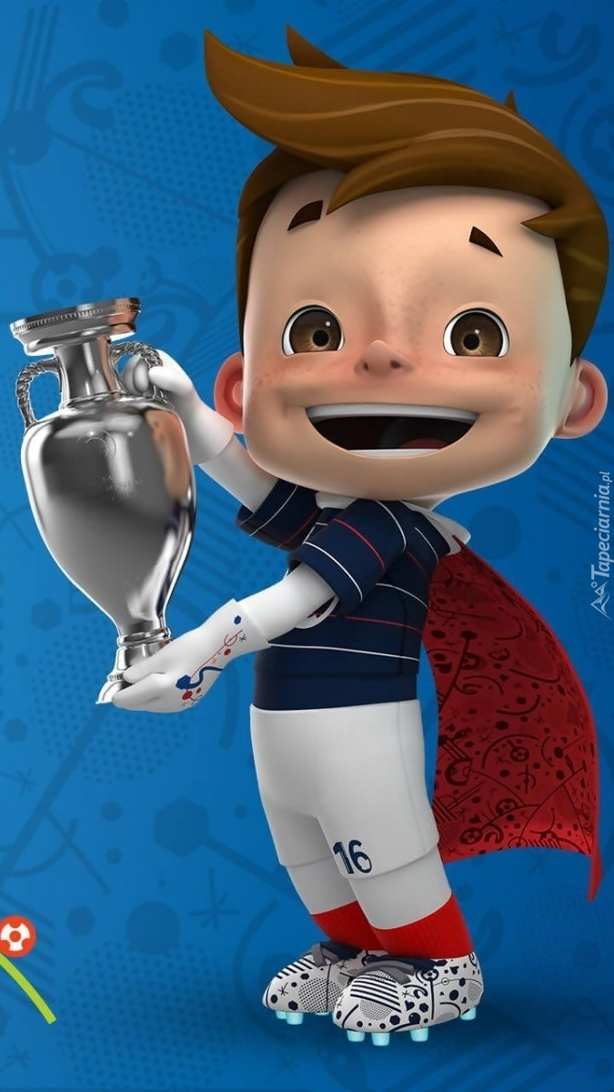 Maskotka Euro 2016