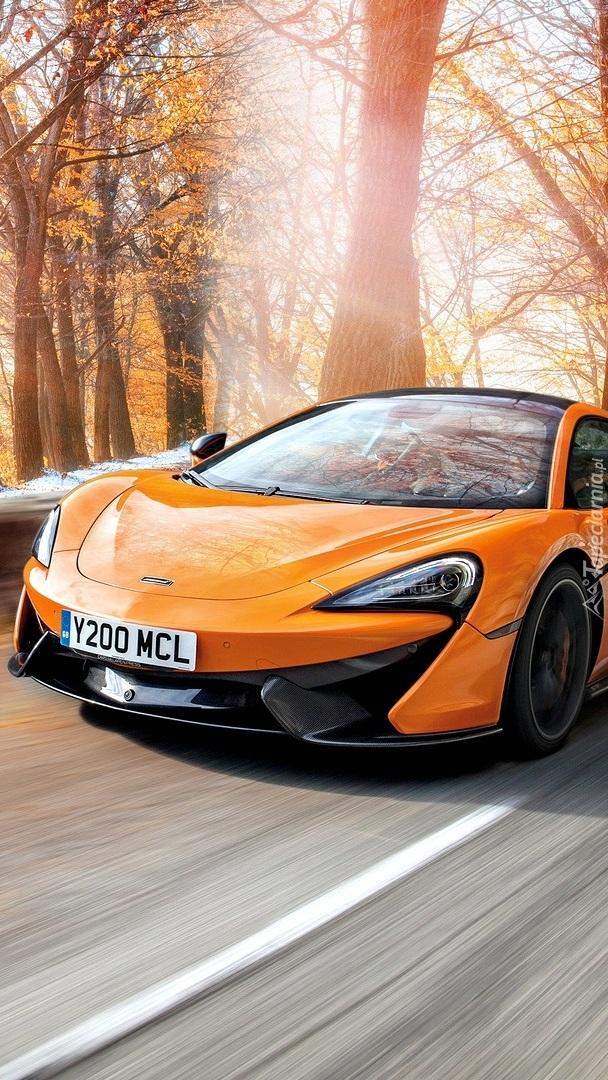 McLaren 570S na drodze