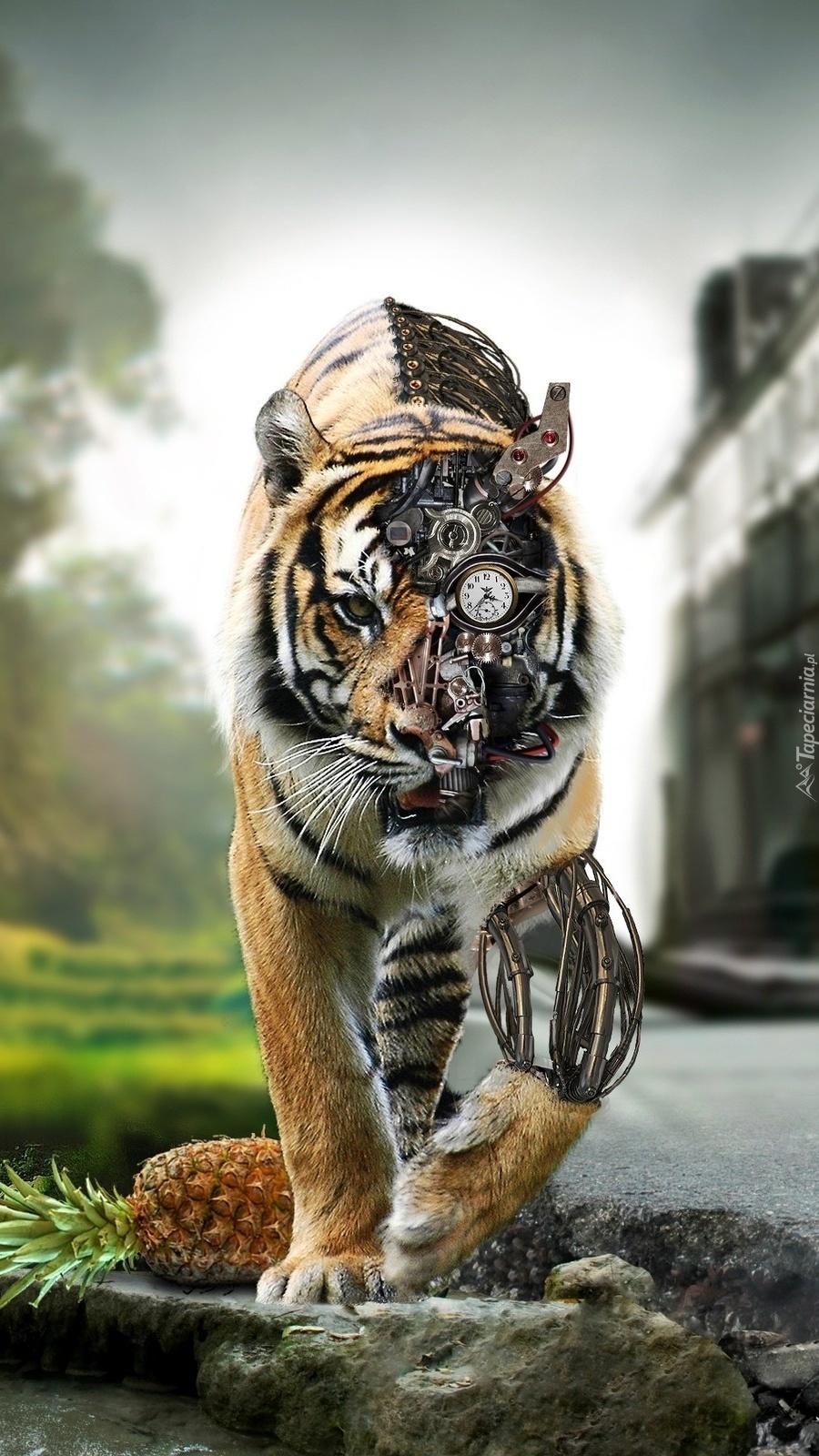 Mechaniczny tygrys