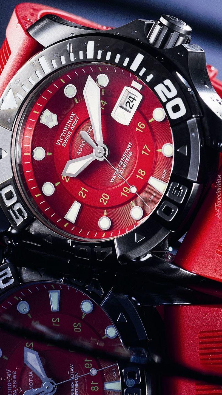 Męski zegarek marki Victorinox