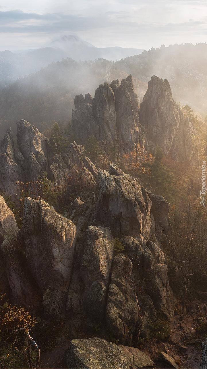 Mgła nad górami Taganaj