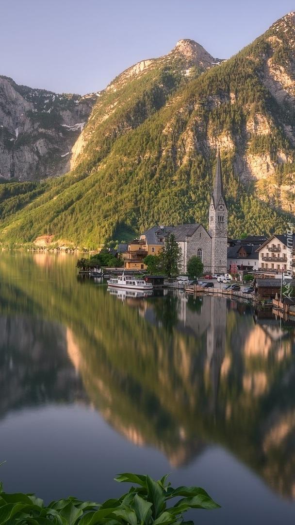 Miasteczko Hallstatt w Austrii