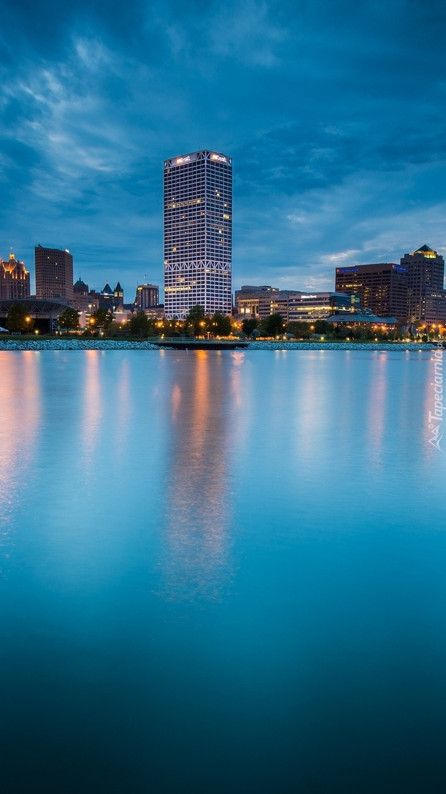 Miasto nad wodą