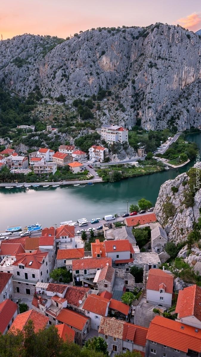 Miasto Omis w Chorwacji