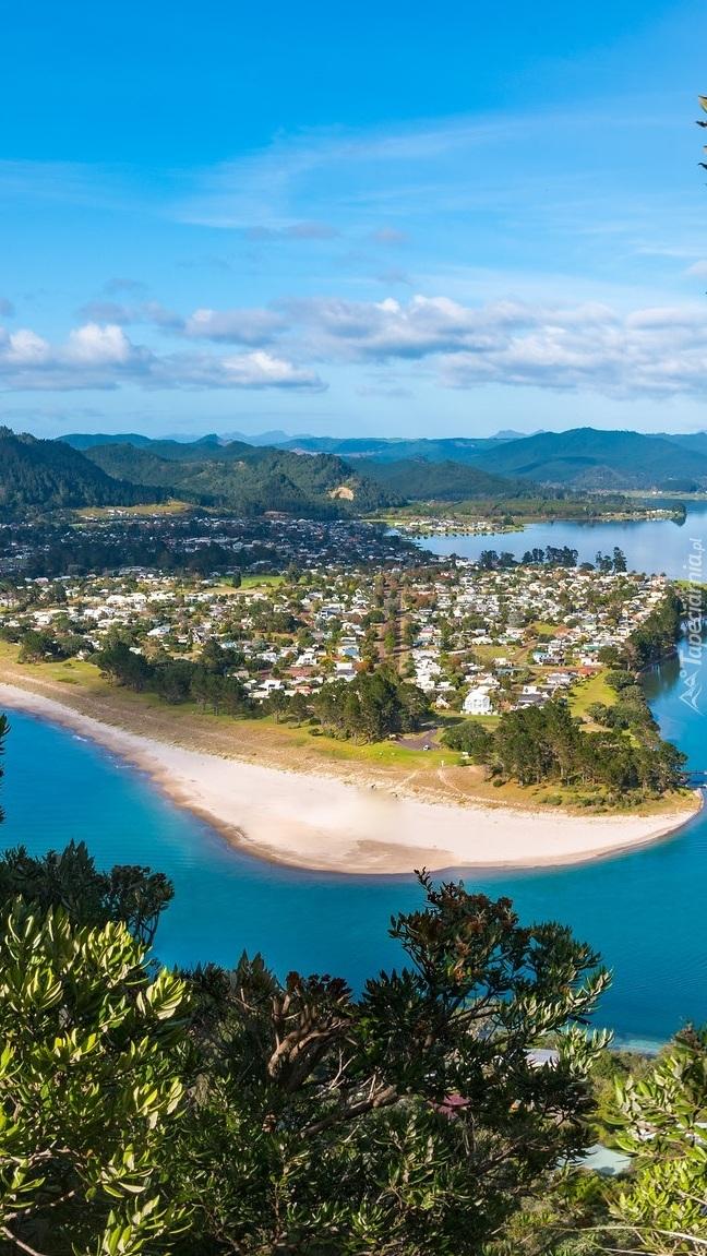 Miasto Pauanui w Nowej Zelandii