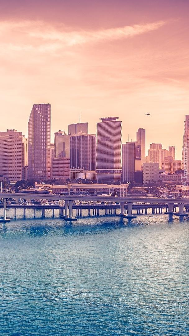 Miasto w USA nad oceanem