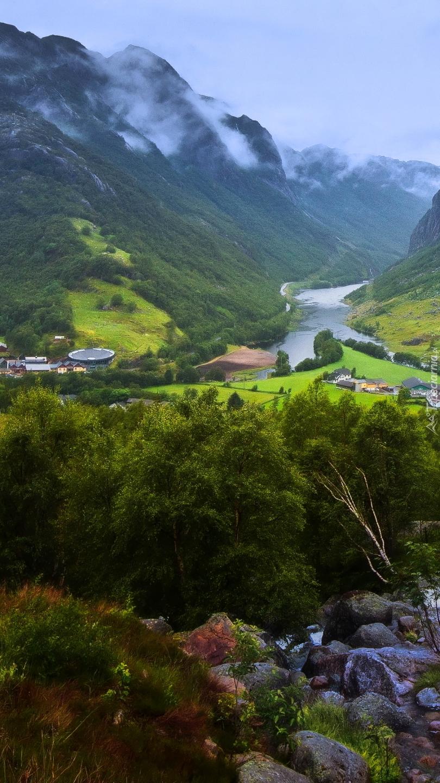 Miejscowość Gjesdal w Norwegii