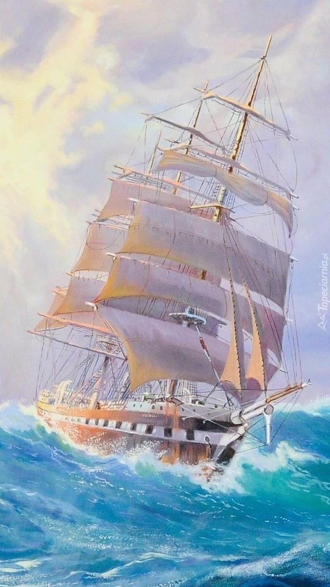 Послать, корабли и море анимация картинки