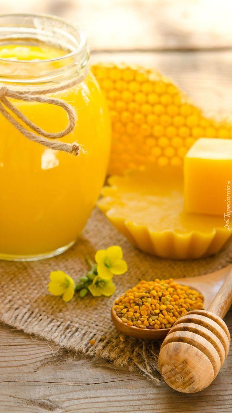 Miód i wosk pszczeli
