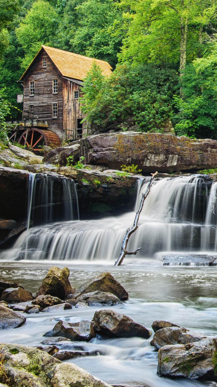 Młyn Glade Creek Grist Mill