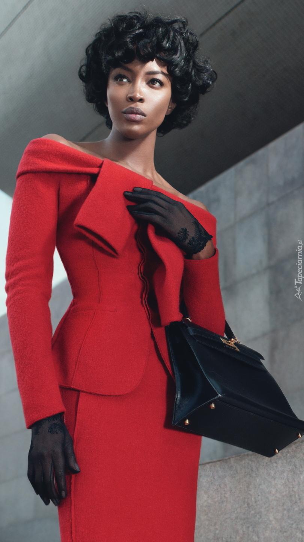 Modelka Naomi Campbell