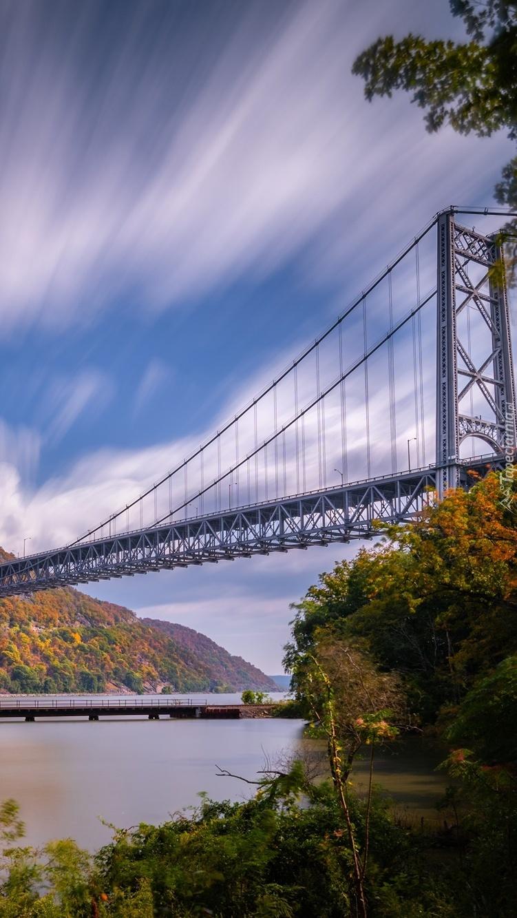 Most Bear Mountain Bridge na rzece Hudson