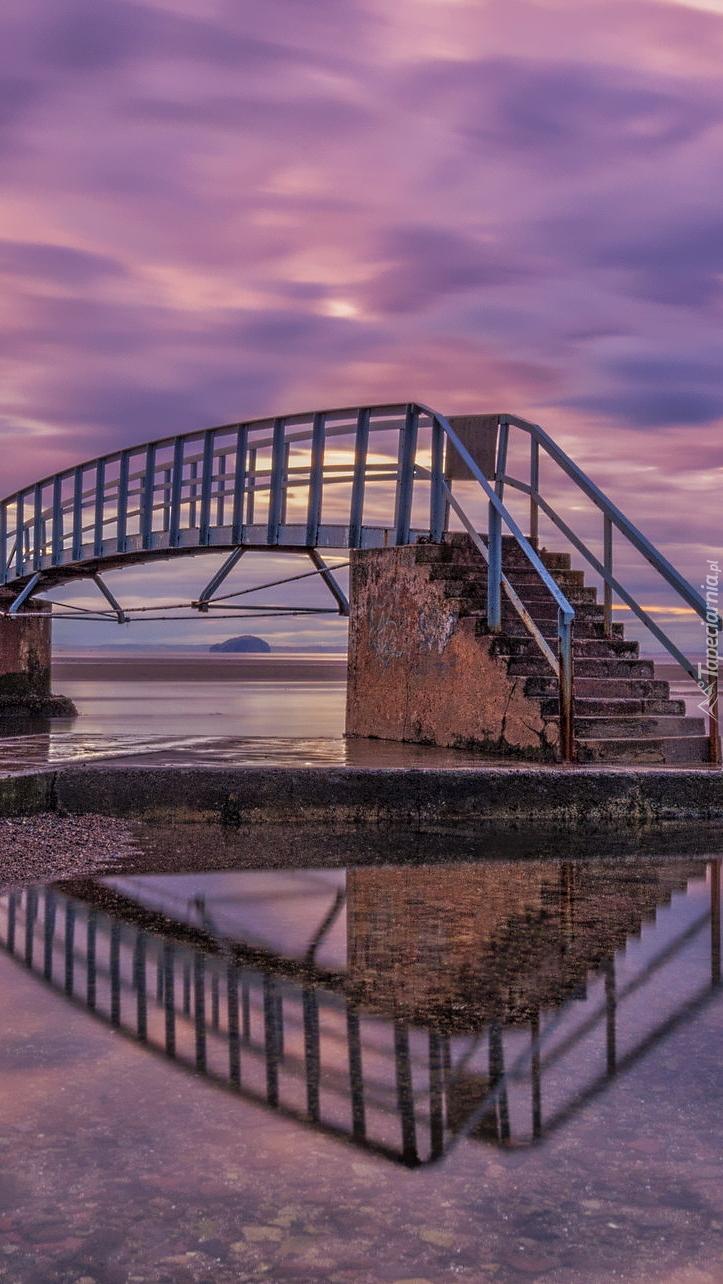 Most Belhaven nad rzeką Biel