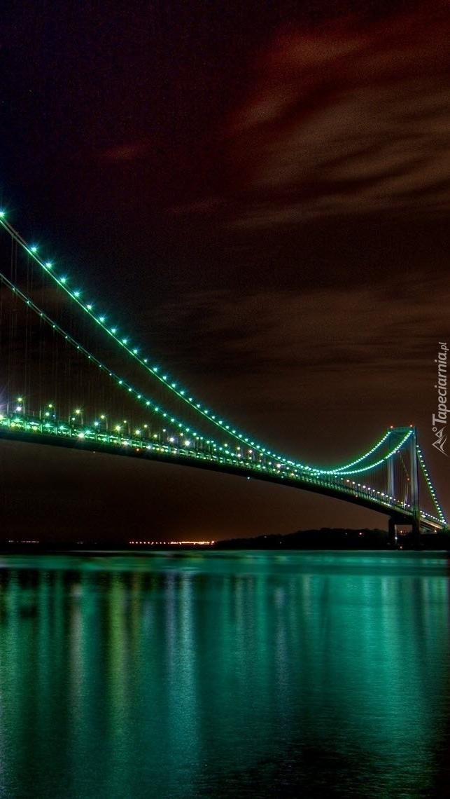 Most Golden Gate nocą
