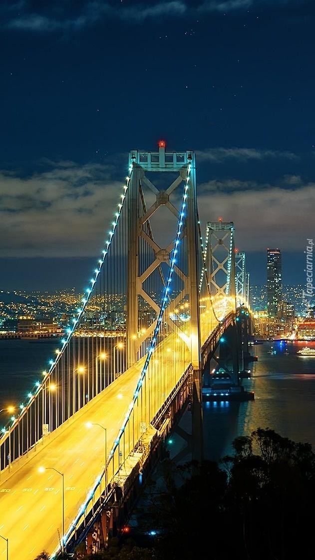 Most Golden Gate w San Francisco