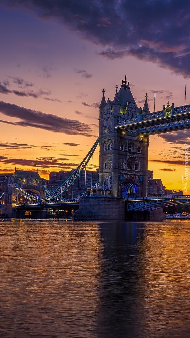 Most Tower Bridge nad Tamizą