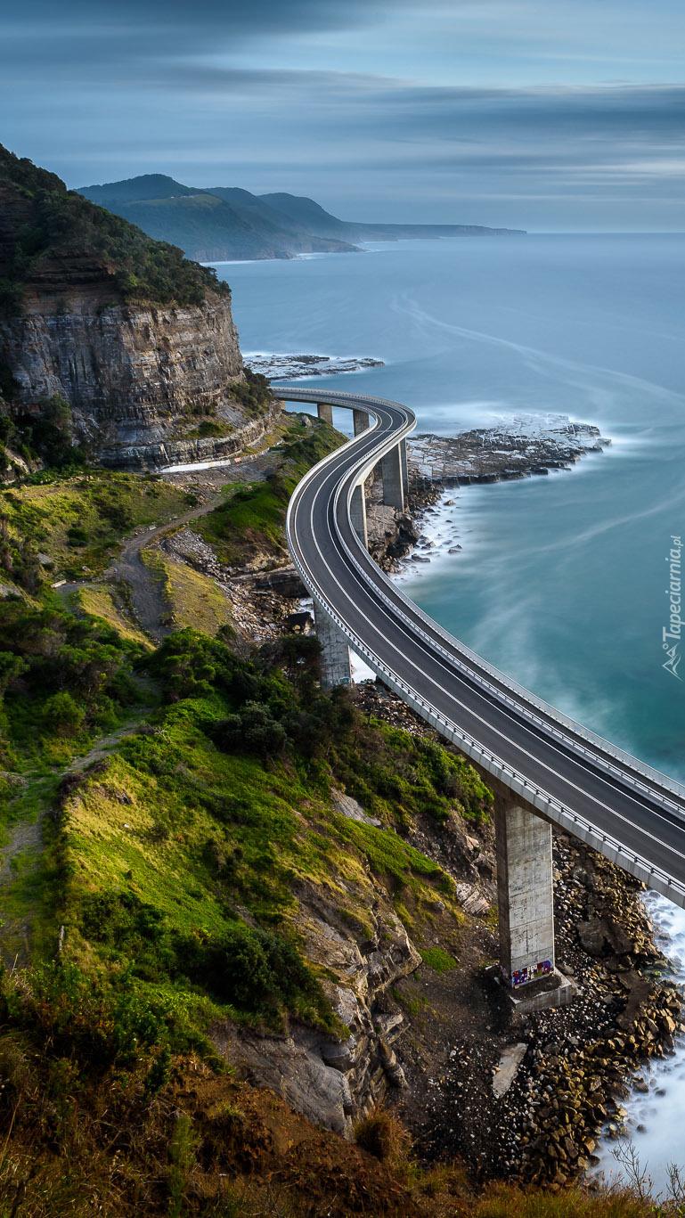 Most wzdłuż australijskiego wybrzeża