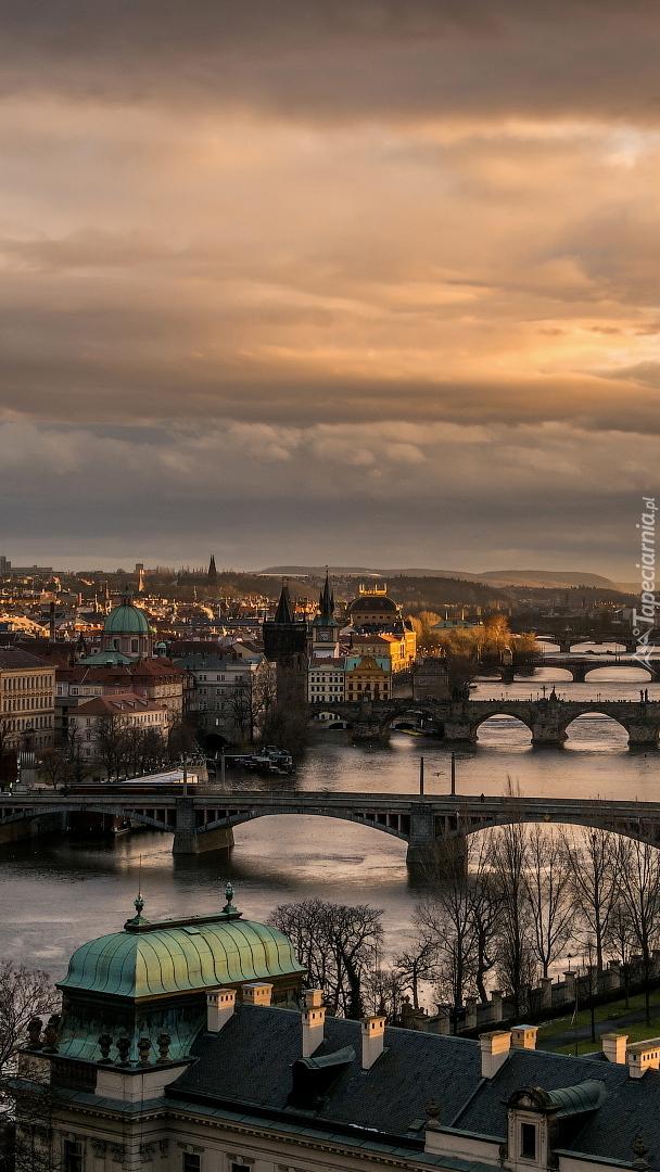 Mosty nad rzeką Wełtawa