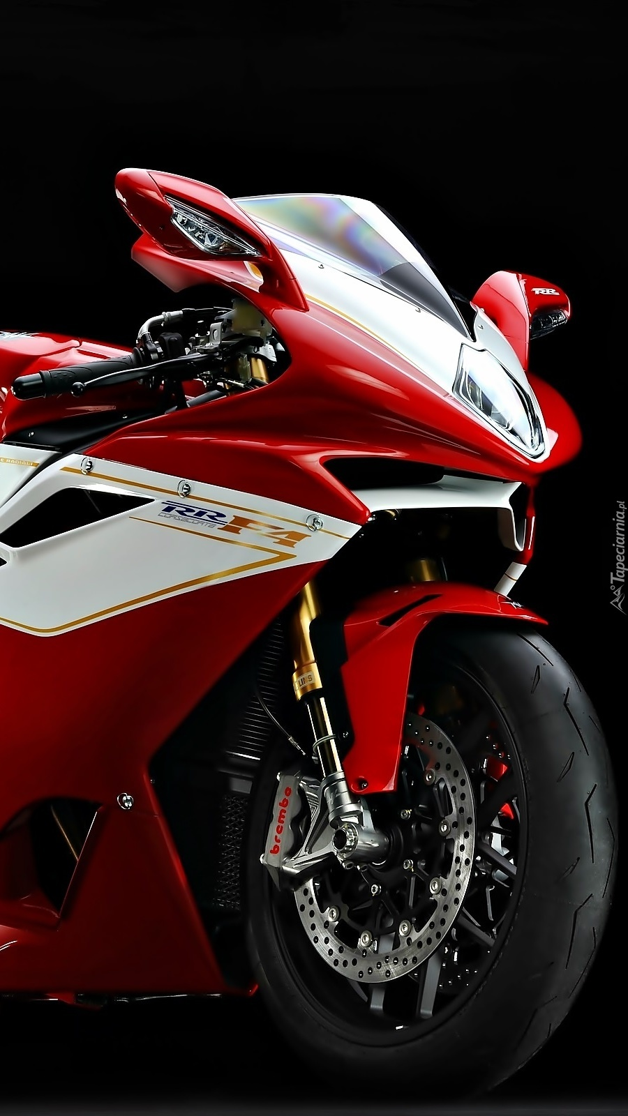 Motocykl  MV Augusta F4 RR