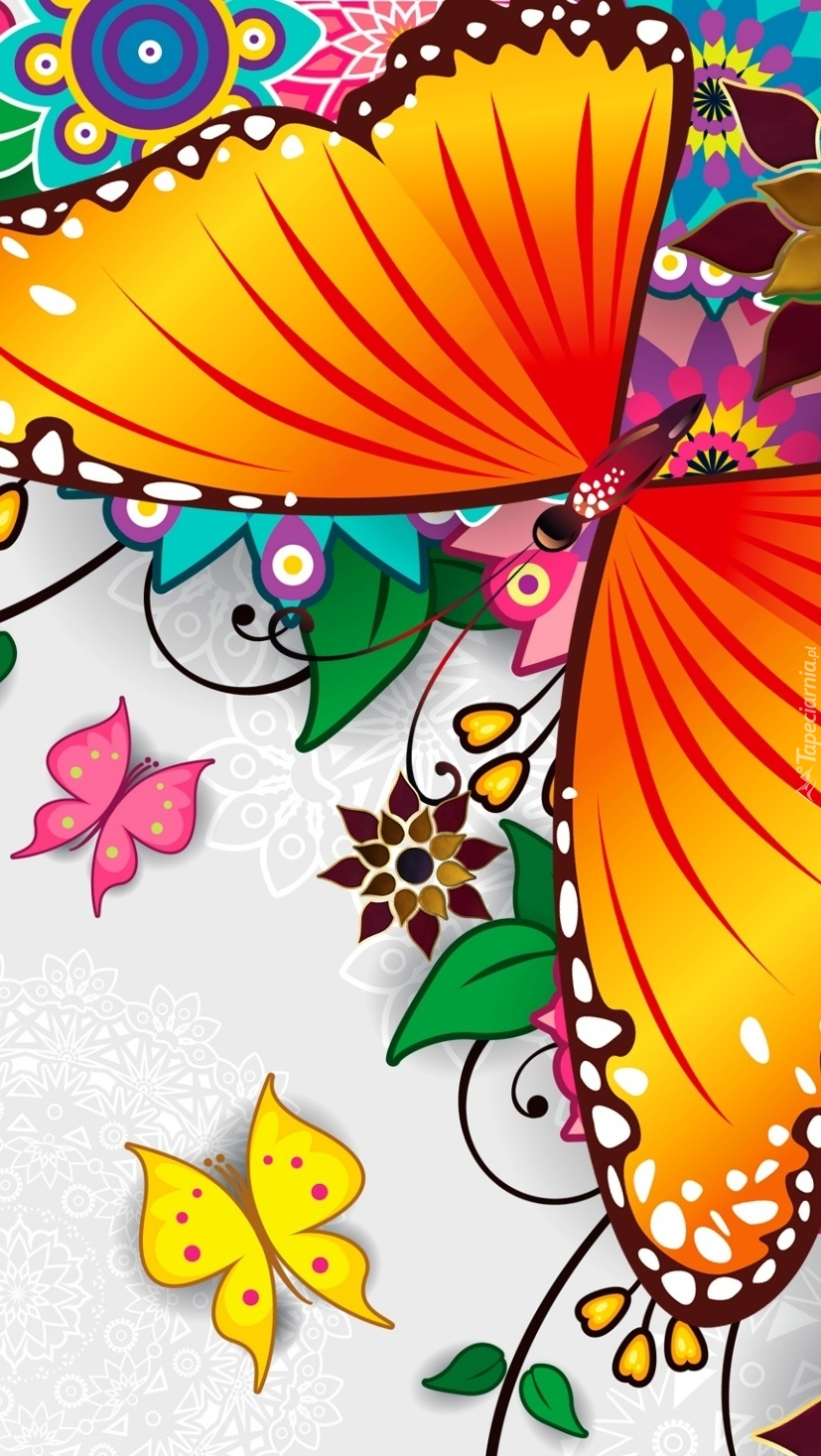 Motyle w grafice