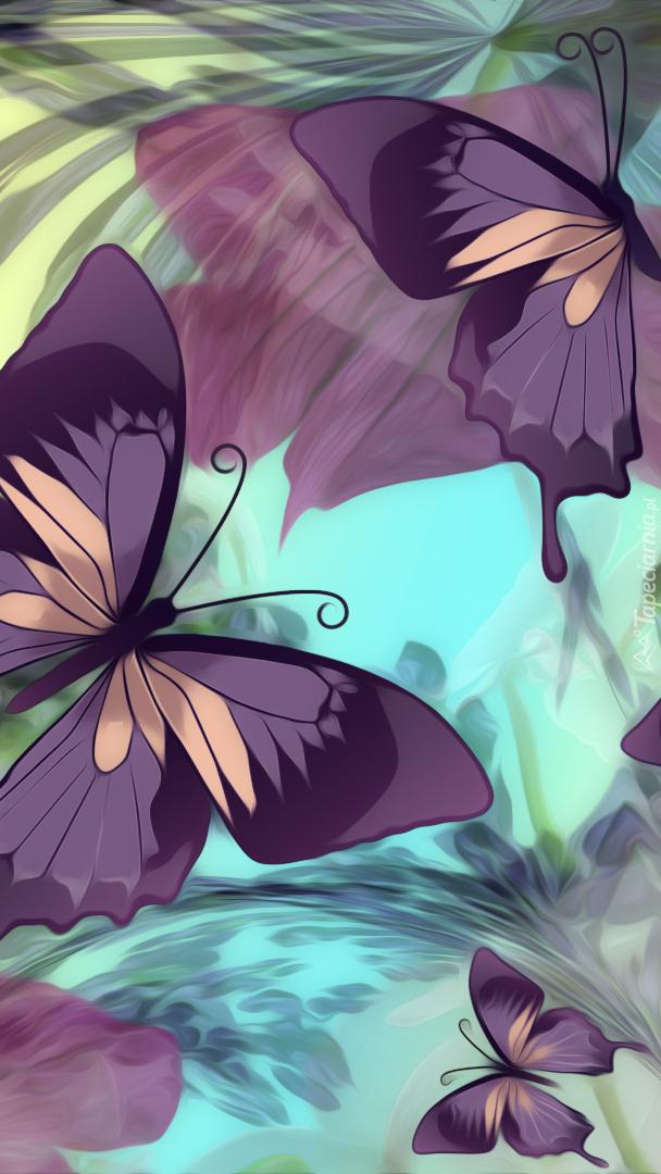 Motylki w grafice