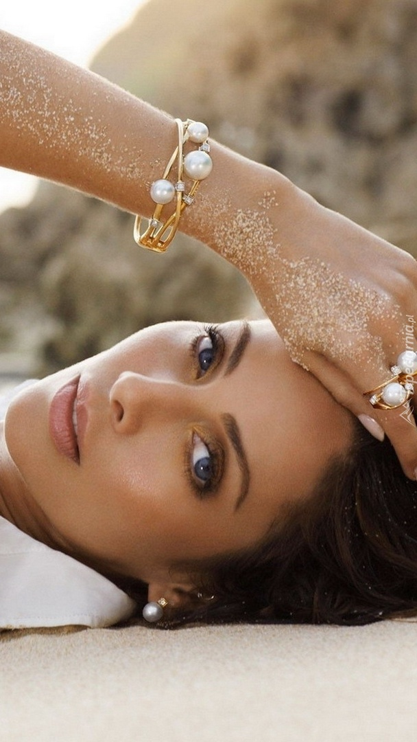 Natalie Imbruglia  na plaży