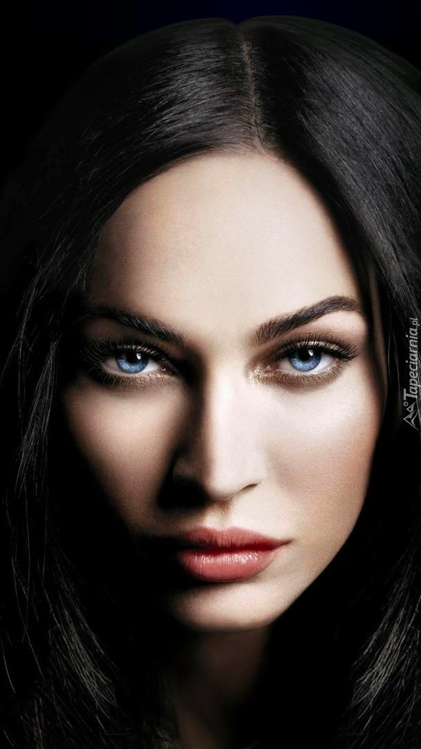 Niebieskooka Megan Fox