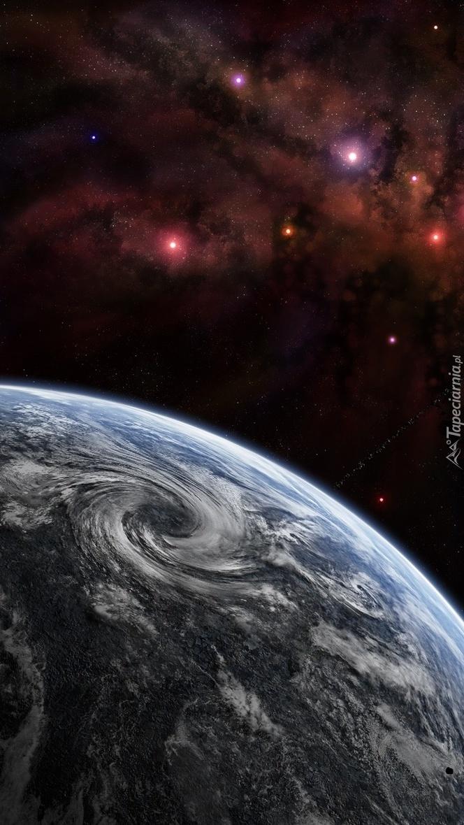 Niebo nad obcą planetą