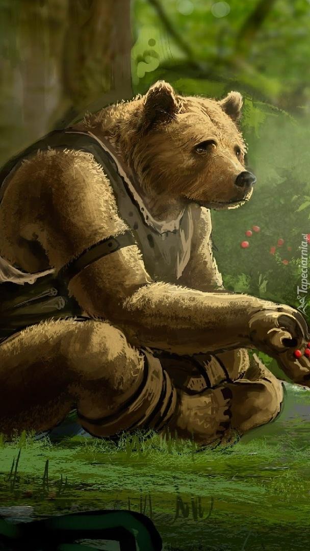Niedźwiedź z gry Witanlore: Dreamtime