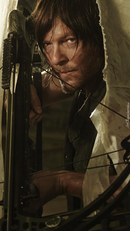 Norman Reedus w serialu The Walking Dead