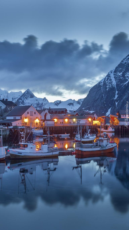 Norweska przystań rybacka