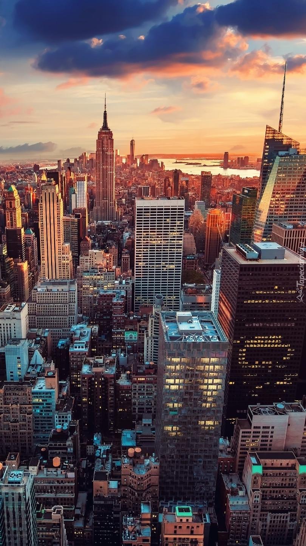 Nowy Jork z lotu ptaka