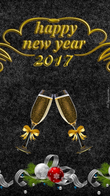 Nowy Rok witamy szampanem
