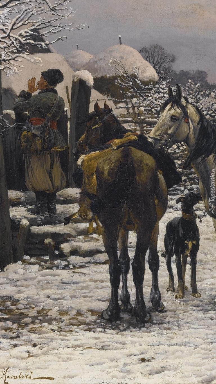 Obraz Alfreda Wierusz-Kowalskiego