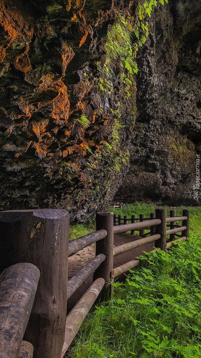 Odrodzenie pod skałami