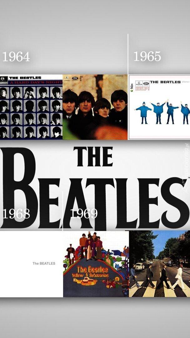 Okładki płyt zespołu The Beatles
