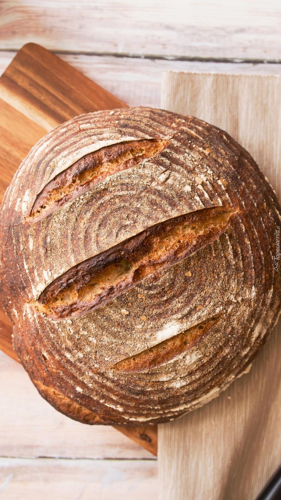 Okrągły bochen chleba